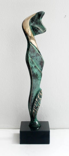 Venus IV - XXI Century, Contemporary Bronze Sculptue, Figurative, Abstraction