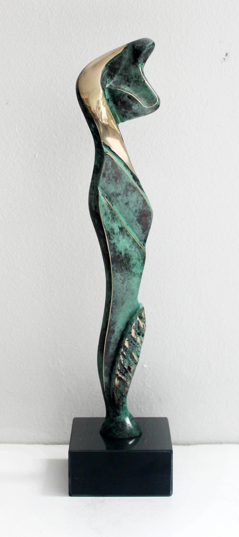 Stanisław Wysocki Figurative Sculpture - Venus IV - XXI Century, Contemporary Bronze Sculptue, Figurative, Abstraction