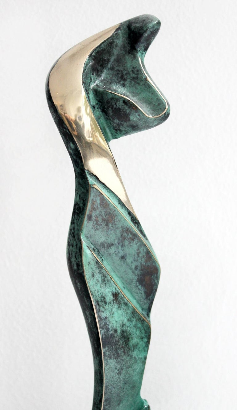Venus IV - XXI Century, Contemporary Bronze Sculptue, Figurative, Abstraction - Sculpture by Stanisław Wysocki