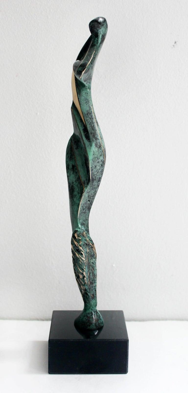 Venus IV - XXI Century, Contemporary Bronze Sculptue, Figurative, Abstraction For Sale 1