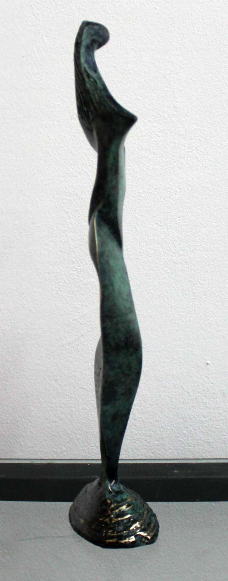 Dame - XXI Century, Contemporary Bronze Sculpture, Abstract, Figurative, Nude For Sale 1