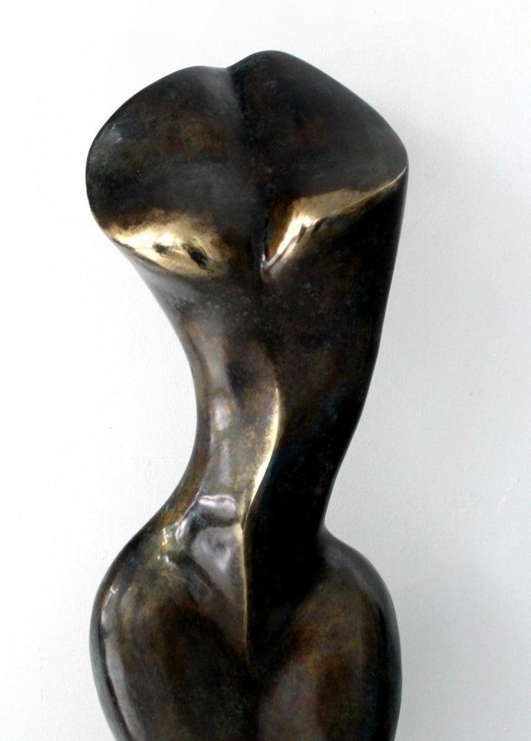 Helen - XXI Century, Contemporary Bronze Sculpture, Abstract, Figurative, Nude For Sale 1