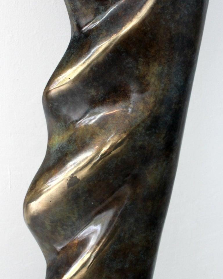 Helen - XXI Century, Contemporary Bronze Sculpture, Abstract, Figurative, Nude For Sale 2