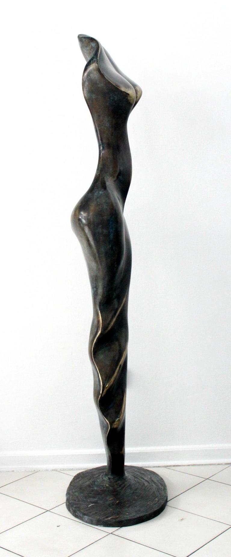 Helen - XXI Century, Contemporary Bronze Sculpture, Abstract, Figurative, Nude For Sale 3