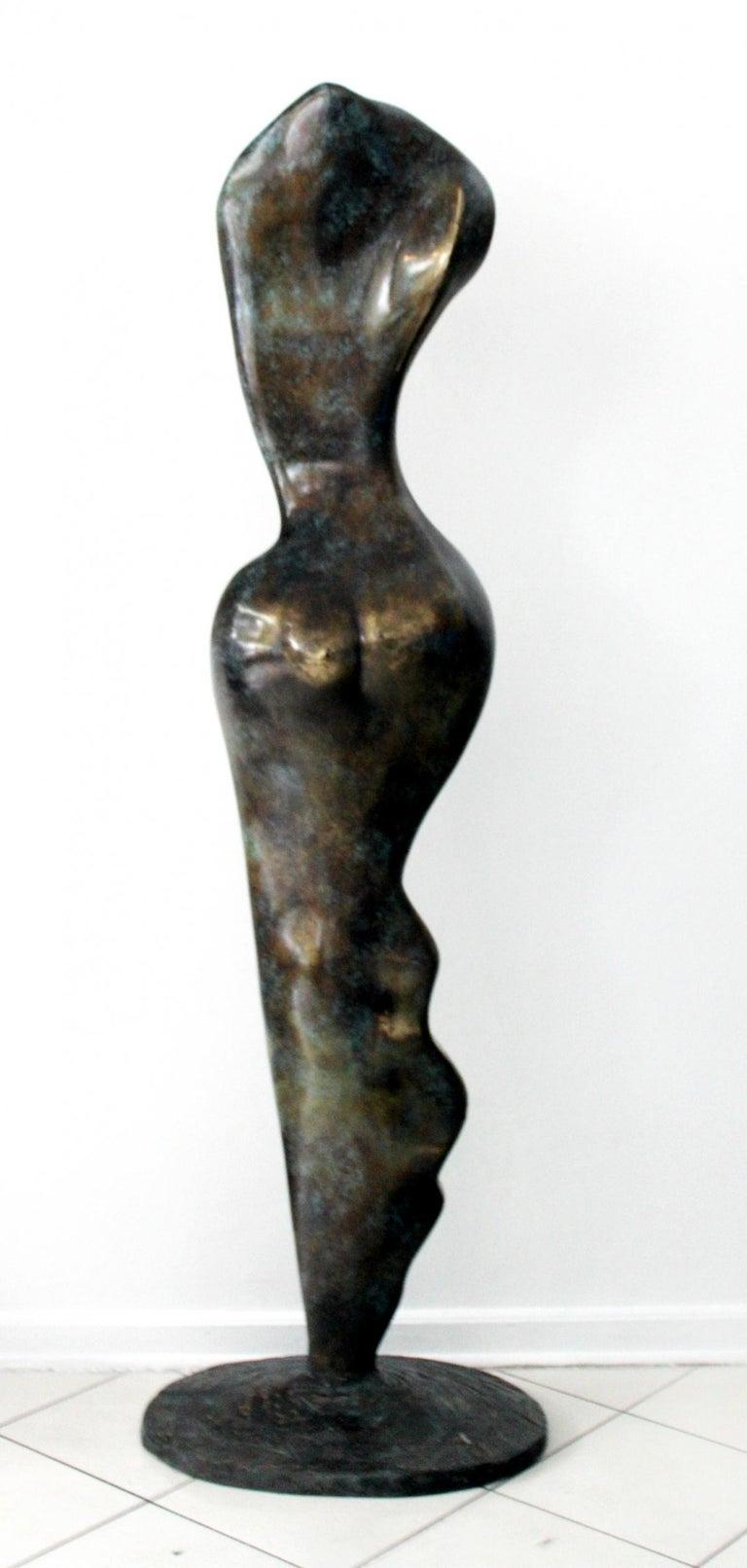 Helen - XXI Century, Contemporary Bronze Sculpture, Abstract, Figurative, Nude For Sale 4