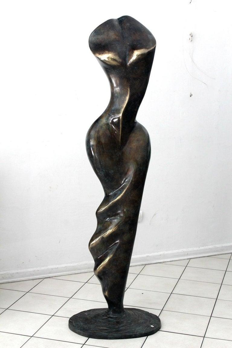 Helen - XXI Century, Contemporary Bronze Sculpture, Abstract, Figurative, Nude For Sale 5