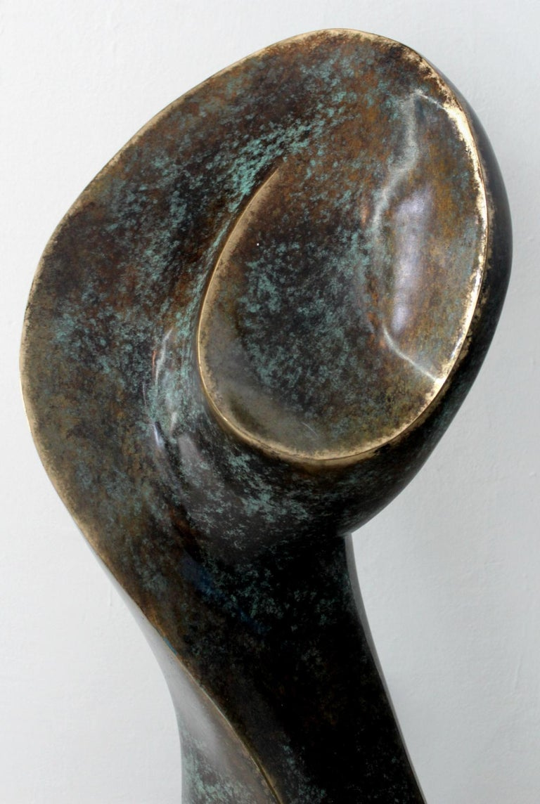 A muse - Contemporary Bronze Sculpture, Abstract, Figurative, Nude 3
