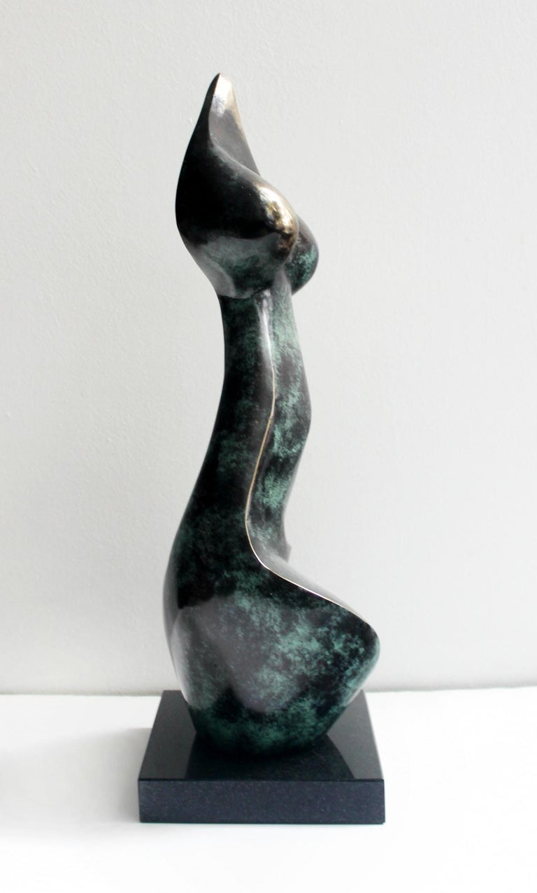 Nude - XXI Century, Contemporary Bronze Sculpture, Abstract, Figurative For Sale 1