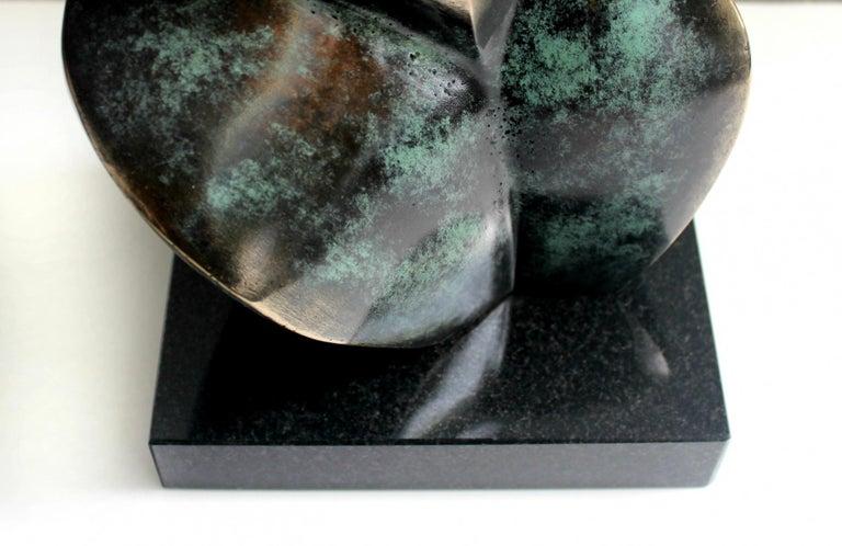 Nude - XXI Century, Contemporary Bronze Sculpture, Abstract, Figurative For Sale 2