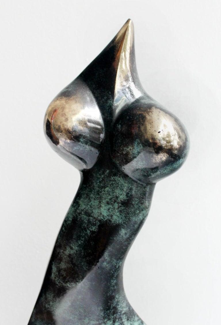 Nude - XXI Century, Contemporary Bronze Sculpture, Abstract, Figurative For Sale 3