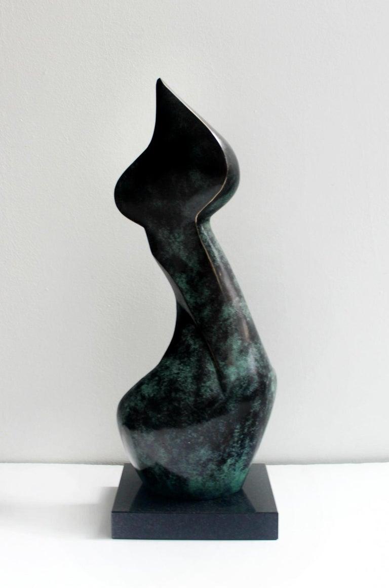 Nude - XXI Century, Contemporary Bronze Sculpture, Abstract, Figurative For Sale 4