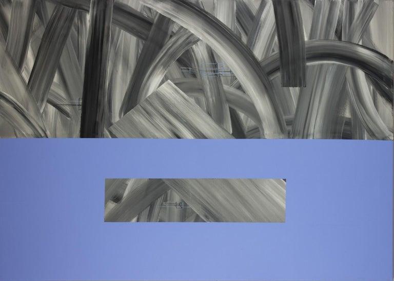 The enhancer of the imagination - XXI century, Acrylic Painting, Abstract - Art by Sławomir Kuszczak
