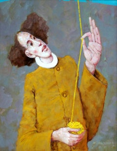 Ariadna's thread - XXI century, Contemporary Figurative Oil Painting