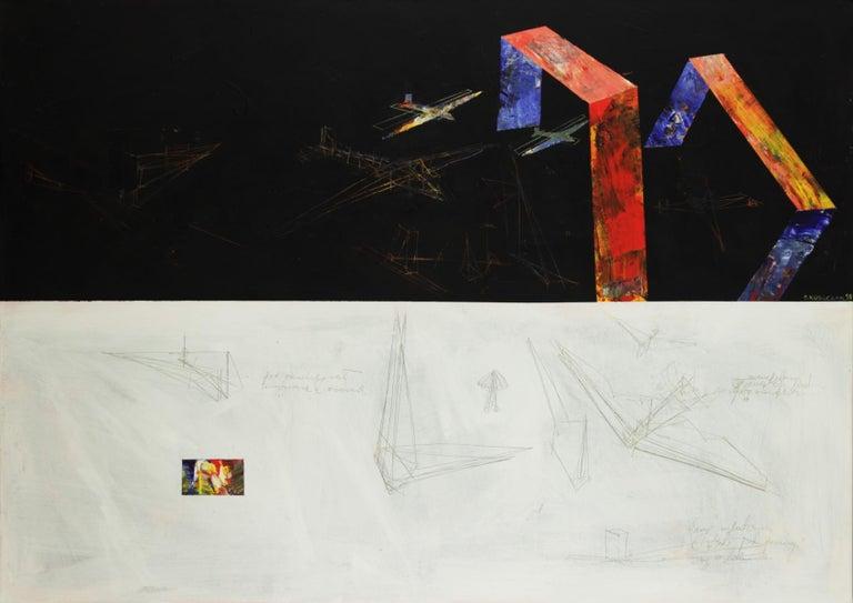 Aesthetics - XXI century, Acrylic Painting, Abstract, Colorful, Vibrant Colors - Art by Sławomir Kuszczak