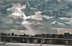 Tempestuous sky - XXI Century, Contemporary Pastel Drawing, Landscape