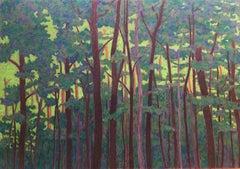 Clearances - XXI Century, Contemporary Pastel Drawing, Landscape