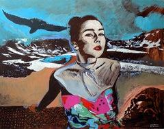 Selva morale e spirituale - XXI Century, Oil painting, Contemporary Figurative