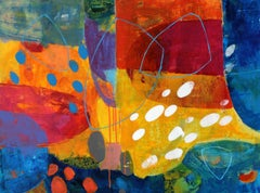 Soundless- XXI century, Abstract painting, Acrylics, Colorful Palette