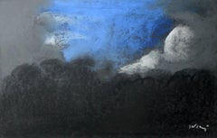 Landscape - Contemporary art, Pastel Drawing, Sky view, Classics, Art master
