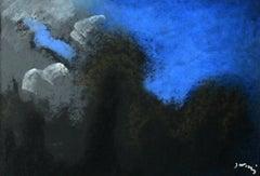 Landscape - Contemporary art, Pastel Drawing, Sky view, Classics, Art master