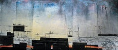 Before a storm - an observation -- XXI century, Acrylic painting, Abstraction