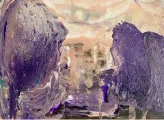 Landscape - XXI century Acrylic painting, Abstaction & Figurative