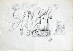 Pop Dor (Recto-verso) - Polish art master, contemporary art classic, Surreal