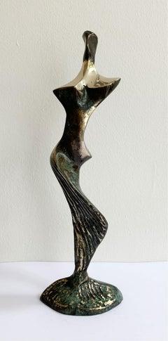 Nude - XXI century Contemporary bronze sculpture, Abstract & figurative