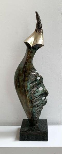 Aphrodite - XXI century Contemporary bronze sculpture, Abstract & figurative