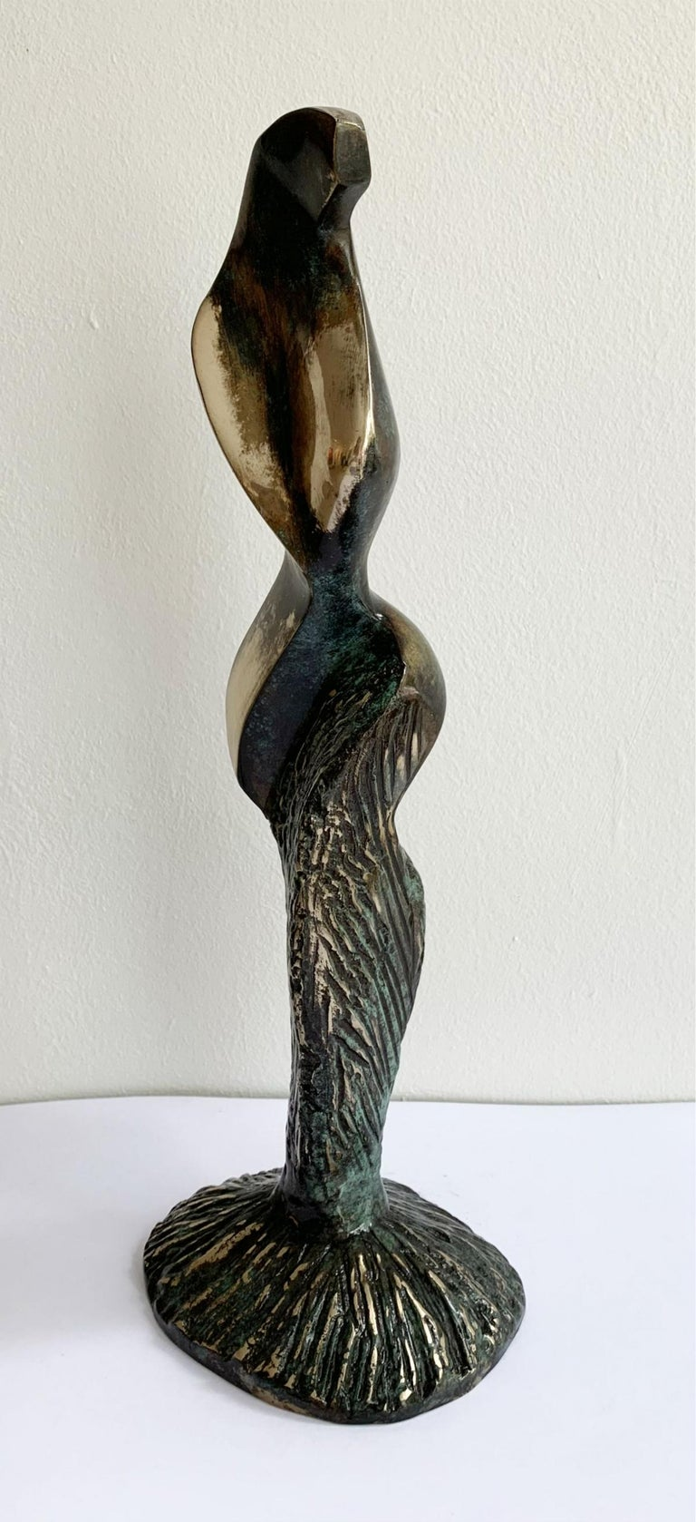 Dame VIII - XXI century Contemporary bronze sculpture, Abstract & figurative For Sale 2