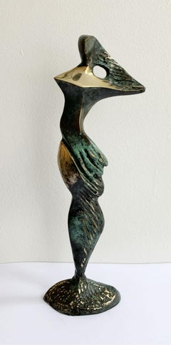Venus VI - XXI century Contemporary bronze sculpture, Abstract & figurative