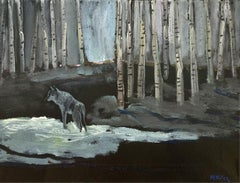 Memories and dreams X - XXI century Figurative oil paintings Landscape Animal
