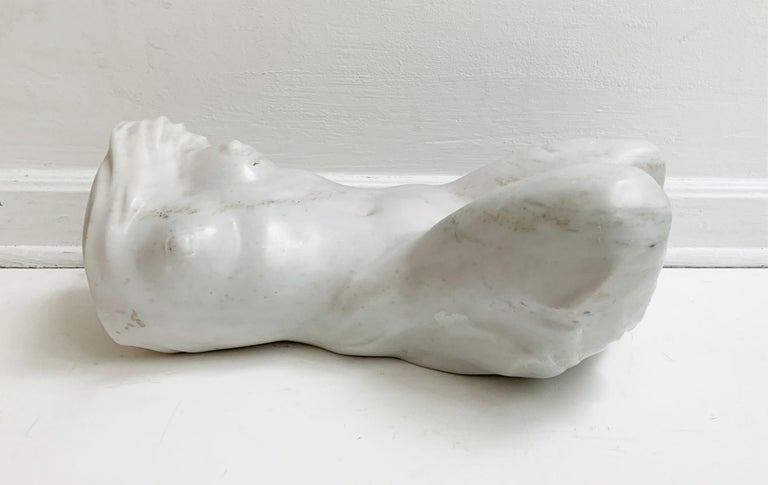 Ryszard Piotrowski Figurative Sculpture - Nude - XXI century, Contemporary figurative marble sculpture, Classical, Realism