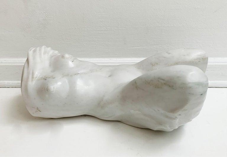 Nude - XXI century, Contemporary figurative marble sculpture, Classical, Realism - Sculpture by Ryszard Piotrowski