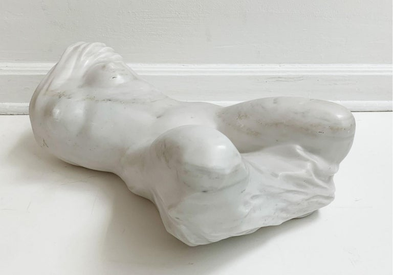Nude - XXI century, Contemporary figurative marble sculpture, Classical, Realism For Sale 1