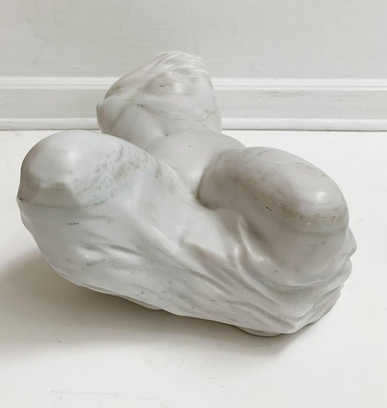 Nude - XXI century, Contemporary figurative marble sculpture, Classical, Realism For Sale 2