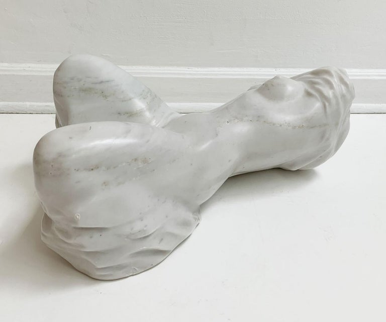 Nude - XXI century, Contemporary figurative marble sculpture, Classical, Realism For Sale 3