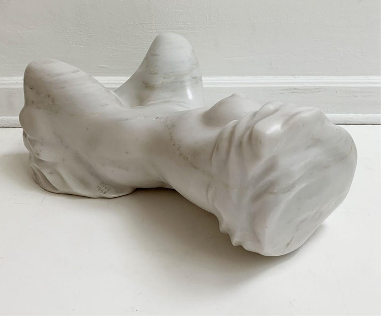 Nude - XXI century, Contemporary figurative marble sculpture, Classical, Realism For Sale 5