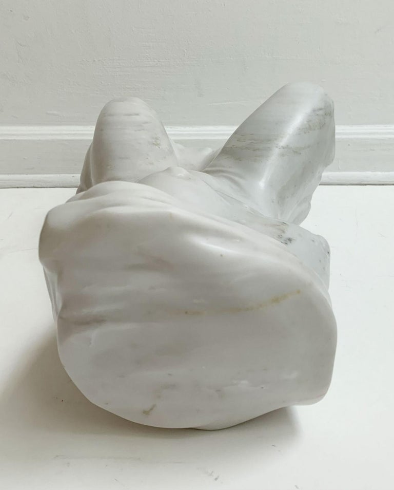 Nude - XXI century, Contemporary figurative marble sculpture, Classical, Realism For Sale 6