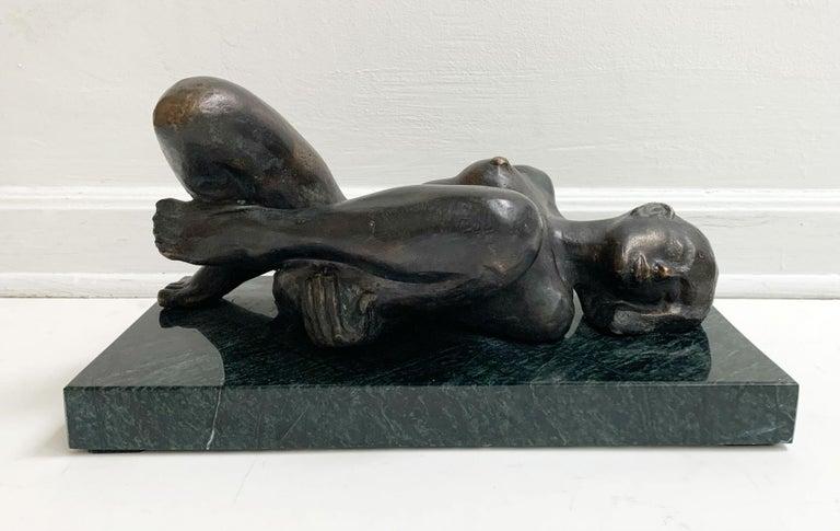 Woman - XXI century Contemporary figurative bronze sculpture, Classical, Realism - Sculpture by Ryszard Piotrowski