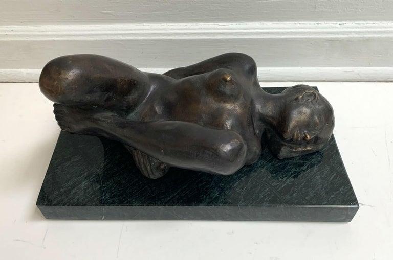 Woman - XXI century Contemporary figurative bronze sculpture, Classical, Realism For Sale 1