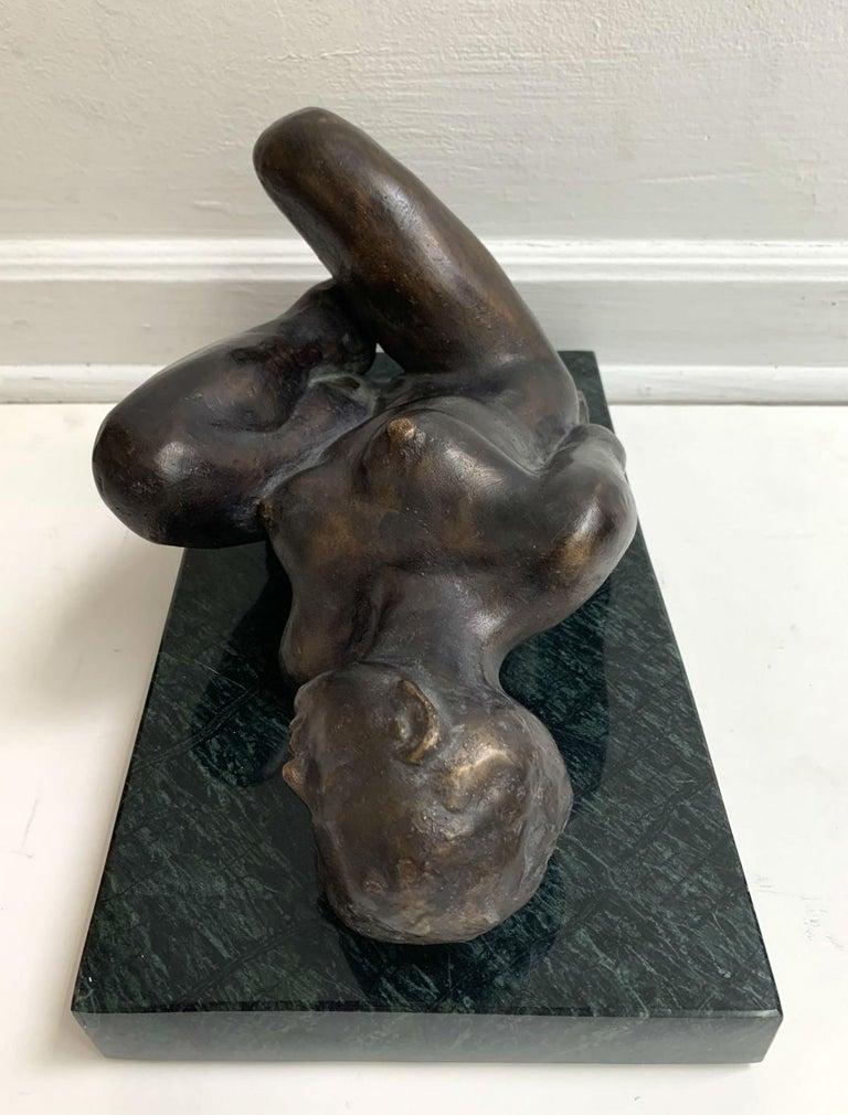 Woman - XXI century Contemporary figurative bronze sculpture, Classical, Realism For Sale 3