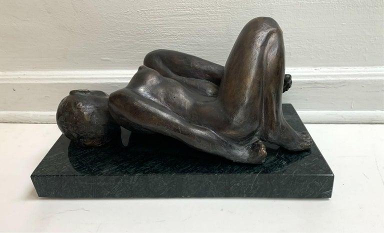 Woman - XXI century Contemporary figurative bronze sculpture, Classical, Realism For Sale 4