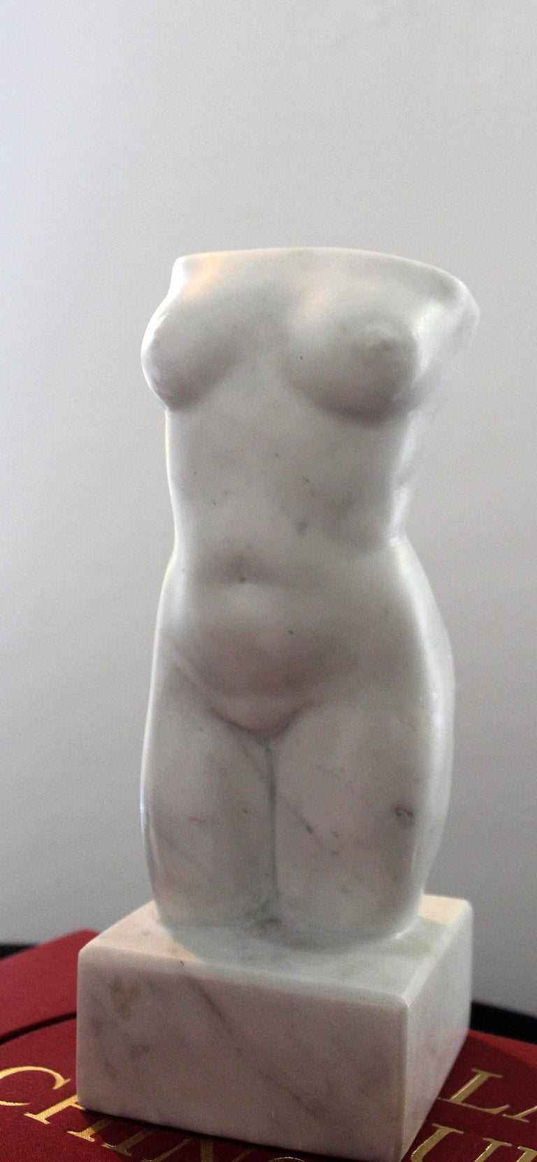 Nude - XXI century, Marble figurative sculpture, Classical - Sculpture by Ryszard Piotrowski