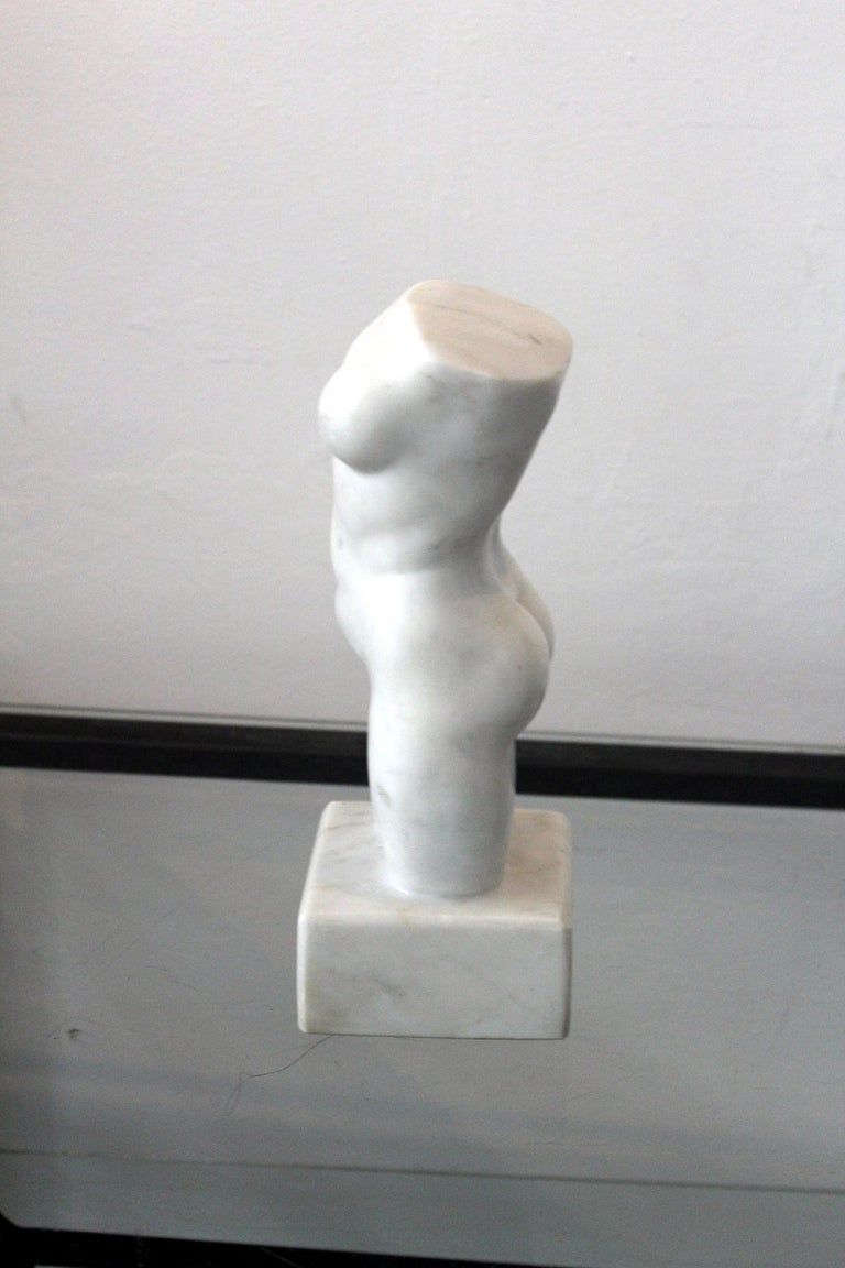 Nude - XXI century, Marble figurative sculpture, Classical - Other Art Style Sculpture by Ryszard Piotrowski