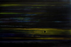 Eclipse - Contemporary Acrylic/Oil Painting, Landscape, Dark colors