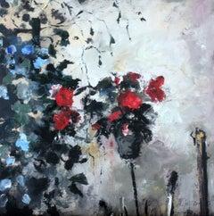 Flower - XXI Century, Figurative Oil Paintings, Still Life,