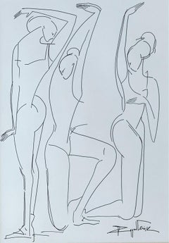No Title- XXI Century, Contemporary Drawing, Black And White