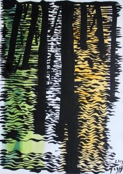 Brda - XXI Century, Polish Master Of Art, Abstract Landscape