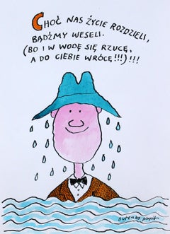 Though life will separate us, let us be happy (...)- Polish Master Of Drawing